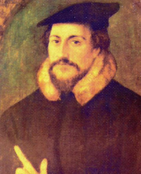 Жан Кальвин (фр.  Jean Calvin, среднефр.  Jean Cauvin, лат.